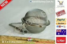 New Mesh Tea Ball On | Chain Stainless Steel | SIZE 5 CM | Tea Clearance Sales