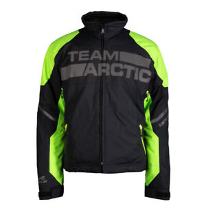 New Men's Arctic Cat Shock Snowmobile Jacket - Green- XL - #5310-086