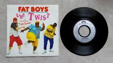 "DISQUE VINYLE 45T 7"" SP / FAT BOYS ""THE TWIST"" 1988 POLYDOR 887 571-7 HIP HOP"
