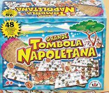 119 LA GRANDE TOMBOLA NAPOLETANA CARTELLE GIOCO DA TAVOLA  NATALE NUMERI