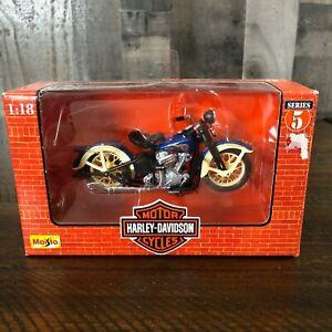 Maisto Harley-Davidson 1936 El Knucklehead 1:18 Diecast Motorcycle Series 5
