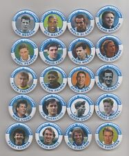 More details for sheffield wednesday  fc  legends magnets  x 20    38mm  in size