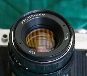 Zenit EM camera with Helios 44M 2/58mm M42 Lens