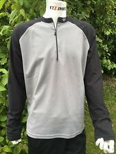 schwarz Größe M Shimano Accu Downhill Trikot  langarm  grau