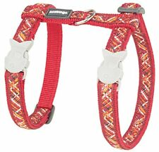Red Dingo Laisse/harnais pour Chat Flanno Rouge