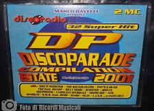 MC DISCOPARADE ESTATE 2001 Doppia Musicassetta disco parade