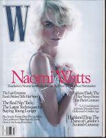 W Magazine March 2004 Naomi Watts Ivanka Trump Farah Pahlavi 061118DBE