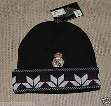 REAL MADRID FC BEANIE CAP HAT WINTER authentic official licensed product