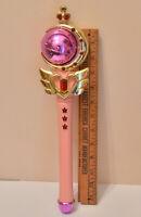 vintage original first Sailor Moon spiral heart moon rod wand rod moon stick