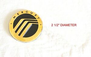 ANY MERCURY MOUNTAINEER GRAND MARQUIS SABLE 24K GOLD PLATED EMBLEM LOGO