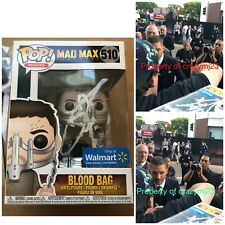 Tom Hardy Signed Mad Max Funko Pop Blood Bag Venom Autograph Auto Exact PROOF!