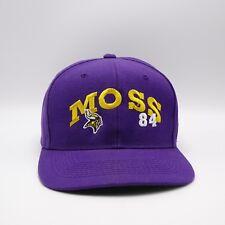 Randy Moss Vikings 84 Snapback hat - NFL Wool blend cap - vintage Made in Korea