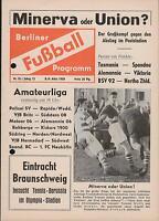 08.03.1958 Tennis Borussia Berlin - Eintracht Braunschweig