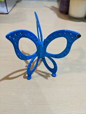 Vintage 3-Wing Turquoise Butterfly Earring Jewelry Holder Rack Stand