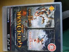 GOD OF WAR COLLECTION PlayStation 3 PS3 BOXED COMPLETE PAL VERSION - MINT