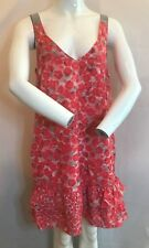 BNWT DKNY Vermillion Red Combo Dress. Summer Cool Size 6 RRP £178 SAVE £140!!!