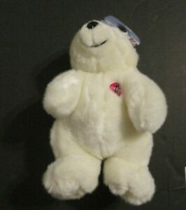1997 COCA COLA   BEAR PRE OWNED WITH TAG 10 INCHES RP
