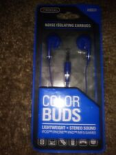 NOISE ISOLATING EARBUDS