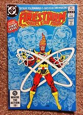 FURY OF FIRESTORM #1 (first issue, 1st appearance Firehawk & Black Bison) 1982