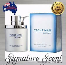 YACHT MAN METAL by MYRURGIA100ml EDT Spray Perfume For Men...........New (BNIB)