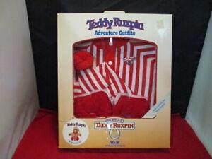Teddy Ruxpin Adventure Nightshirt Worlds of Wonder 1985 Vintage NIB