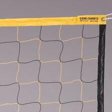 MacGregor Economy Yellow/Black Volleyball Net - 32'L x 3'H