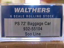 JTC - 72' Pullman-Standard Baggage Car w/Smooth Sides (SOO LINE)