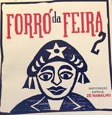 S. America Import Music CD Brazil Forró Da Feira 2 - Participação De Zé Ramalho