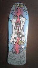 VISION Marty Jimenez JINX skateboard deck reissue - Gray - New in Shrink