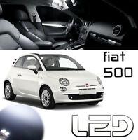 Fiat 500 2 Ampoules LED Blanc éclairage intérieur Habitacle plafonnier Coffre