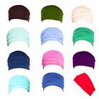 Women Lady's Wide Stretch Yoga Headband Turban Elastic Hair Band Head Wrap