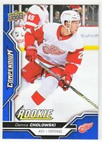 2018-19 Upper Deck Compendium Series 2 BLUE ROOKIE RC Dennis Cholowski