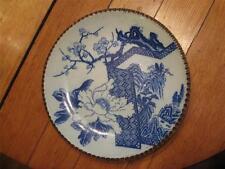 Japanese Edo Period Blue White Transferware Charger