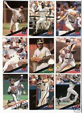 1993 Leaf Baseball Lot - You Pick - Includes Stars & Inserts