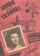 SPARTITO SAMBA TRANVAI ANGELINI ILLUSTRATORE ARPINO NILLA PIZZA 1950