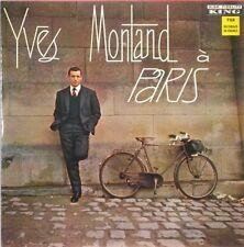 YVES MONTAND A Paris 1963 KING BLACK LBL LP
