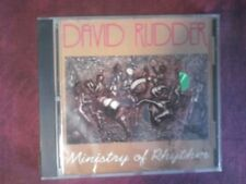 DAVID RUDDER- MINISTRY OF RHYTHM (9 TRACKS, 1992). CD.