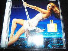 Celine Dion Live To Live To Love Perfume 6 Track Promo CD SAMPCD 127492