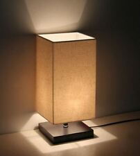 Small Bedside Table Lamp Bedroom Entryway Lamps For Men Women Office Desk Wood