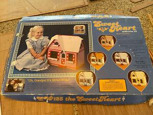 Vintage 1985 Dura Craft Sweet Heart Dollhouse Kit SW 125 Complete w/ Open Box