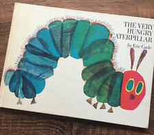 The Very Hungry Caterpillar Hardcover Book 13th Edition 1983 Eric Carle / A-1