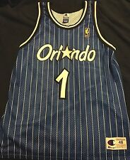 Vintage Authentic Champion Jersey Anfernee Penny Hardaway Gold NBA Logo Stitched