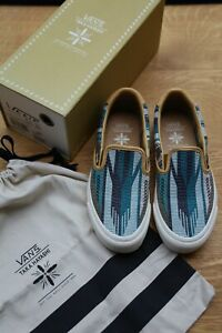 Vans Vault OG Classic Slip On 59 LX Chimayo Golden Brown Taka Hayashi Shoes UK6