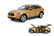 1/18 1:18 Scale Infiniti QX70 FX50S 2014 Gold DieCast Model Car Paudimodel
