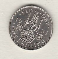 1951 SCOTTISH GEORGE VI PROOF SHILLING IN NEAR MINT CONDITION