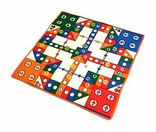 Party Family Board Game CARPET LUDO FLYING CHESS Kids Baby Fun (For 2~4 Players)
