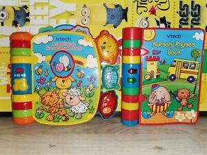 Vtech Baby Interactive Book Bundle  Story + Nursery Rhymes Book