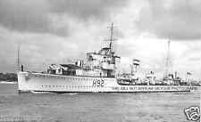ROYAL NAVY G CLASS DESTROYER HMS GLOWWORM - HIPPER - GERARD ROOPE VC