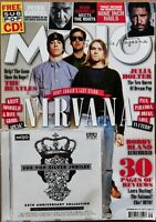 Mojo Magazine #238 Sep 2013 features Nirvana with Sub Pop Silver Jubilee CD