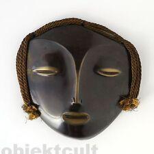 seltene Wandmaske Frauenkopf Ernest Igl Design 50er Wall Mask lady's face 50s